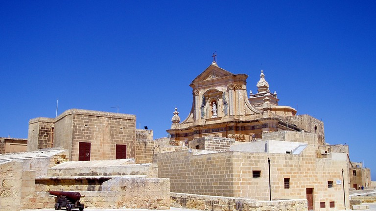 Il Kastell city walls and Cathedral of the Assumption, Victoria, Gozo | © Glen Bowman/Flikr