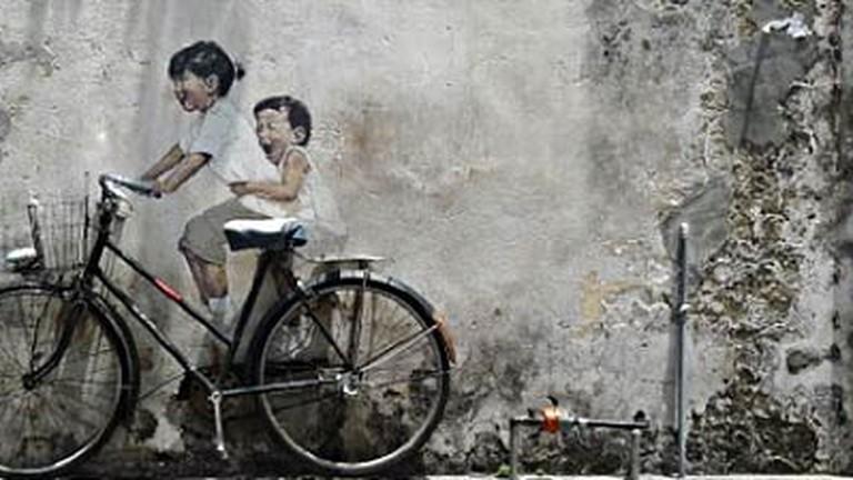 The Best Street Art In George Town Penang
