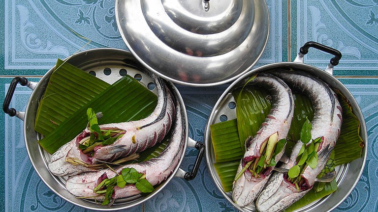 Fish_stuffed_with_Thai_herbs| © Mattes/WikiCommons