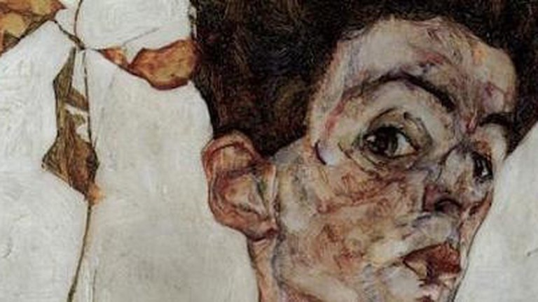 Canvas Print Egon Schiele Female Lovers