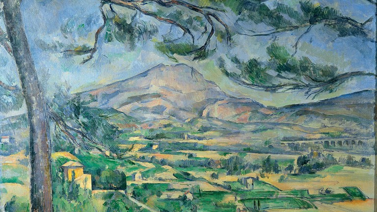 f944454ea Paul Cézanne, Mont Sainte-Victoire, circa 1887 | © Courtauld Institute of  Art