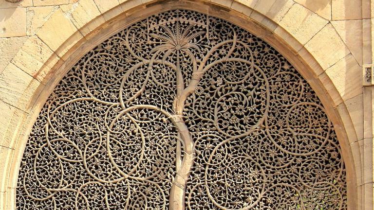 Mosque of Sidi Sayed Jaali in Ahmedabad | © Vrajesh jani/WikiCommons