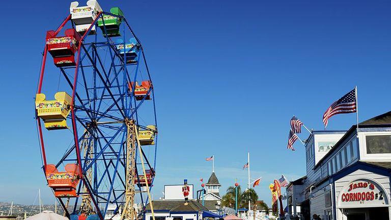 Balboa Fun Zone Ferris Wheel Ⓒ Nandaro/Wikimedia