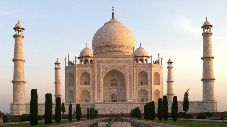 The Taj Mahal | ©Kinnla, Flickr
