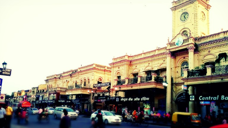Image result for Hazratganj Market Lucknow