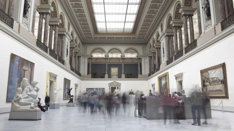The majestic forum of the RMFAB | © Daniel Piaggio Strandlund & Ilan Weiss/Courtesy of the RMFAB