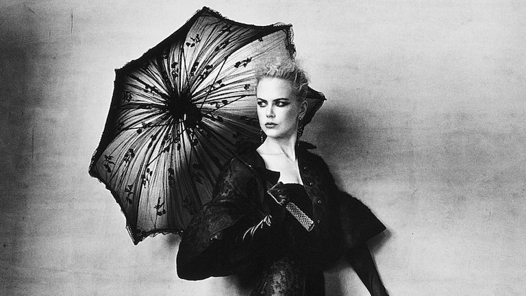 d16b652f96 Nicole Kidman (in Olivier Theyskens for Rochas) photographed in New York by  Irving Penn