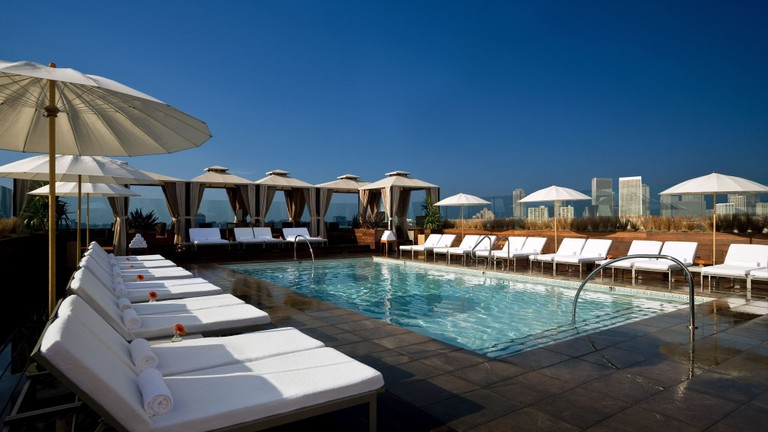 Pool at SIXTY | © Courtesy of SIXTY Beverly Hills