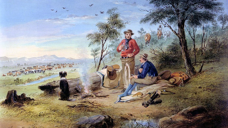 Morning by S.T. Gill (1818-1880) | © S.T. Gill/WikiCommons