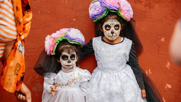 Dia De Los Muertos Coco Painting Art For Kids