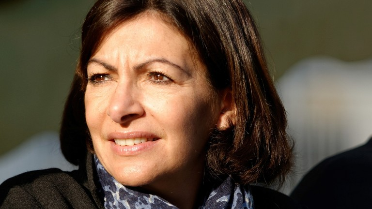 Anne Hidalgo at the 2014 Paris Marathon │© Marie-Lan Nguyen / Wikimedia Commons / CC-BY 3.0