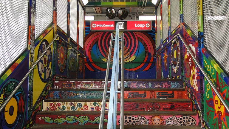 18th Street Pink Line station | © WikiCommons