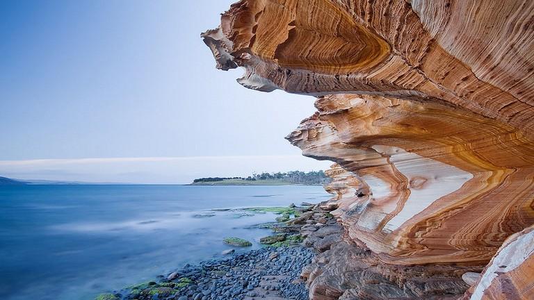 Painted Cliffs © JJ Harrison/Flickr