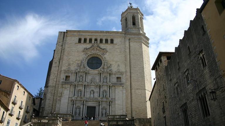 Girona Cathedral, Spain | ©yearofthedragon / Wikimedia Commons