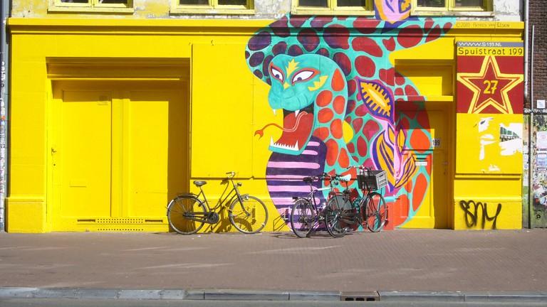 A former squat on Spuistraat   © furdis / Flickr