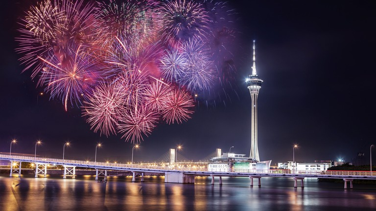 A Brief History of Fireworks in Macau