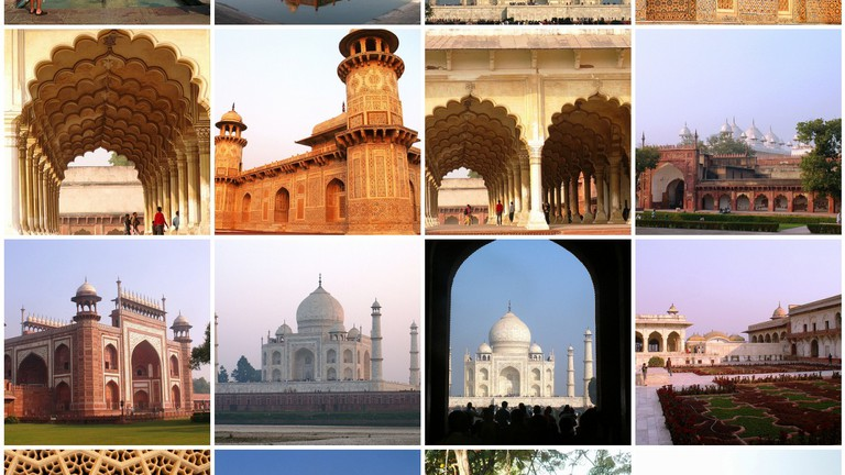 8 Famous Places to Visit in Agra, India on agra new delhi india map, taj mahal india location on map, madrid tourist map, agra uttar pradesh india map,