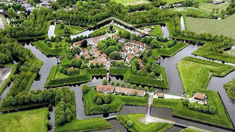 Image result for fort and spiked moat