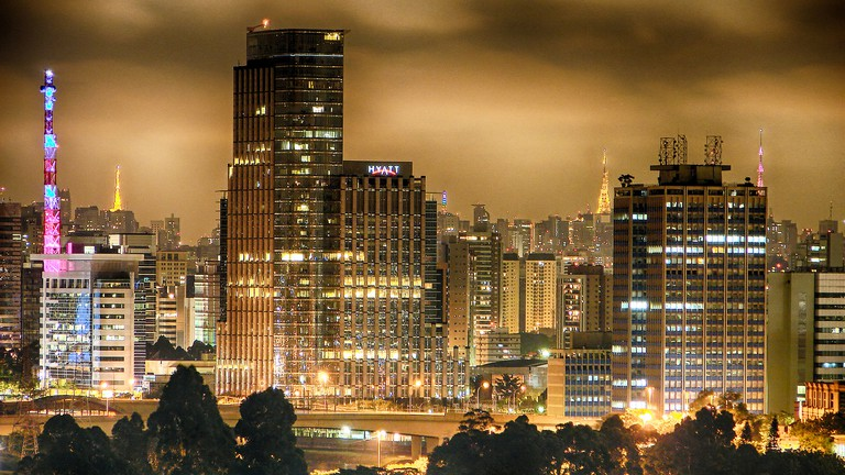 São Paulo night © Diego Torres Silvestre:Flickr