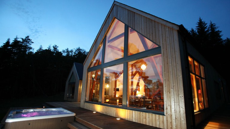 Pleasing Incredible Eco Lodges In Scotland Download Free Architecture Designs Embacsunscenecom