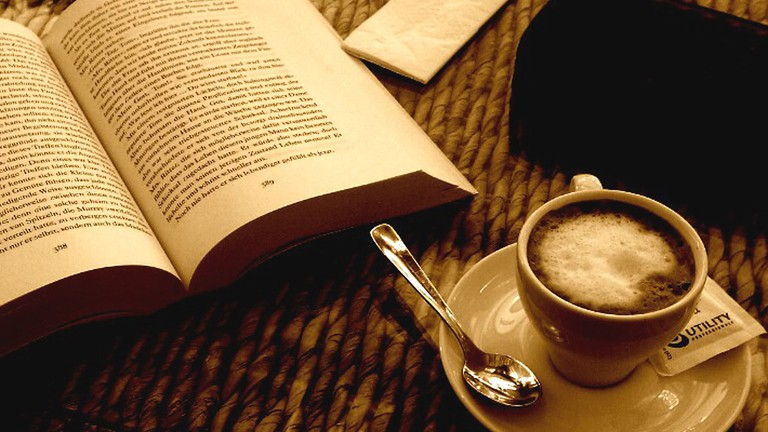 Image result for coffee AND BOOK