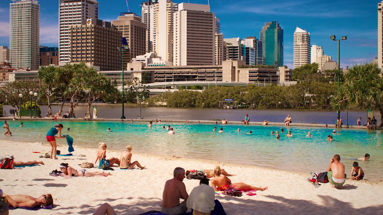 Southbank Streets Beach | © Jyoti Das/Flickr