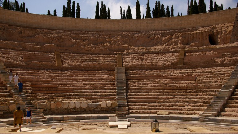 A Walking Tour Of Ancient Sites In Cartagena Spain