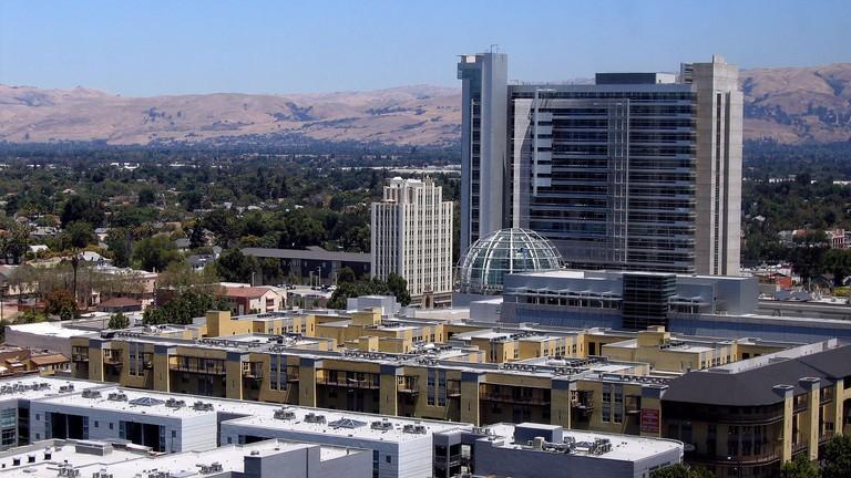 Downtown San Jose, CA |  © Tim Wilson / WikiCommons