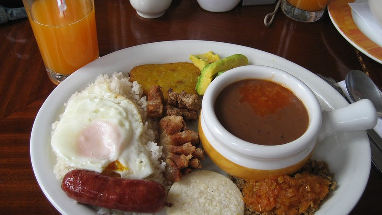 Why Colombian Dish Bandeja Paisa Should Come With a Warning Label
