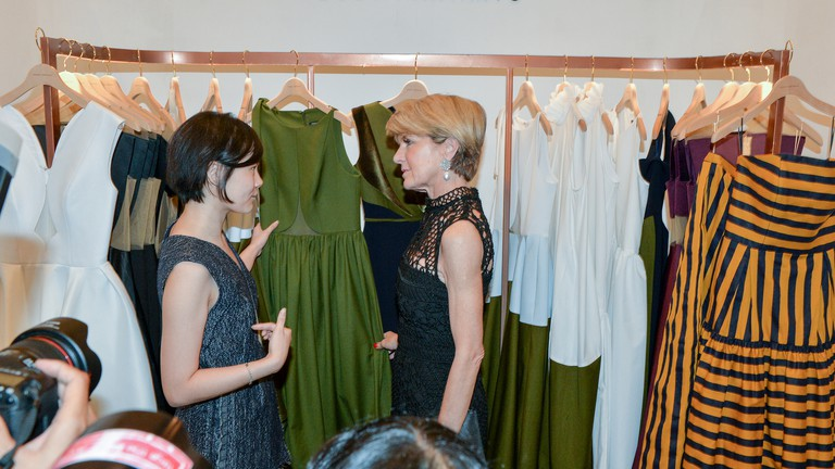 Indonesian fashion designer Peggy Hartanto | © Australian Embassy Jakarta/ Flickr
