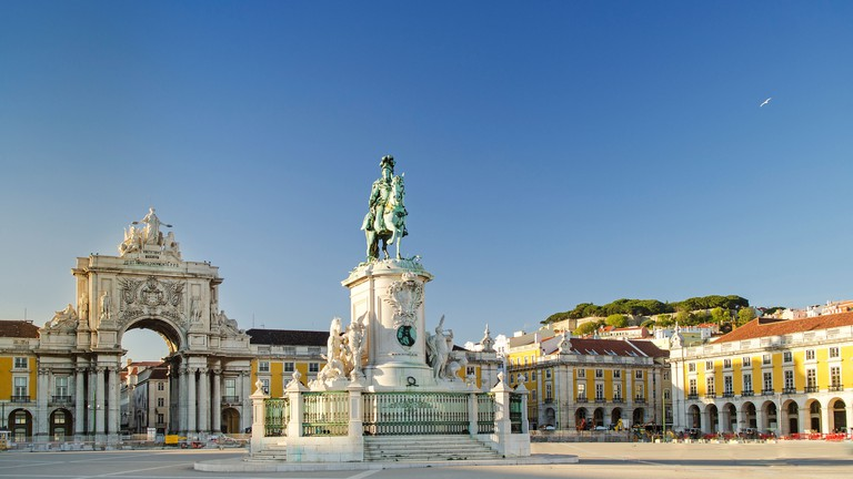 Image result for praca do comercio lisbon