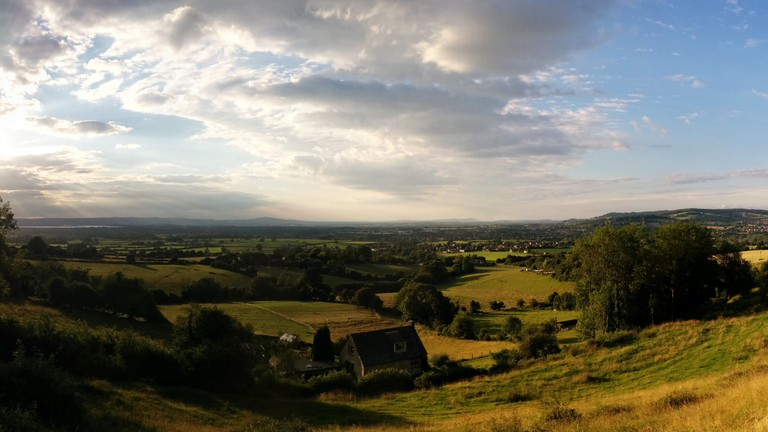 Evening View from the Cotswold Way | © Justin Clements/Flickr
