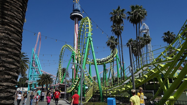7 Best Amut Parks in California California Theme Parks Map on