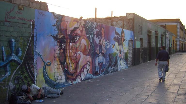 The Best Street Art In Lima Peru