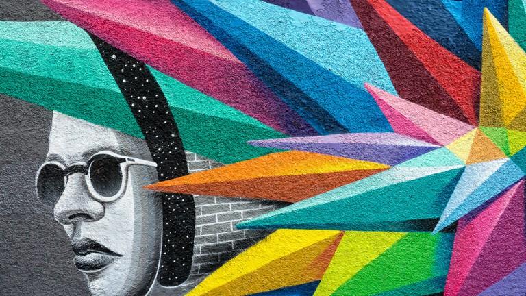 Street art in Lavapiés, Madrid   © r2hox/Flickr