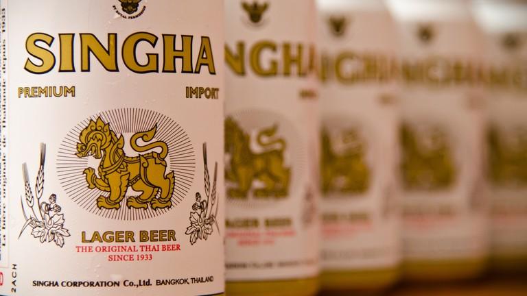 Singha beer | © Alexis Gravel / Flickr