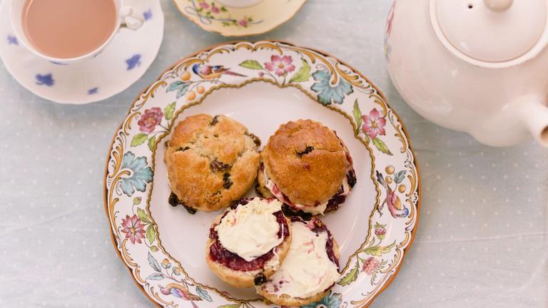 Cornish Cream Tea | ©Dan Cottle / Flickr