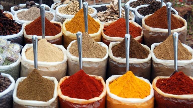 Indian spices   © sara marlowe/Flickr