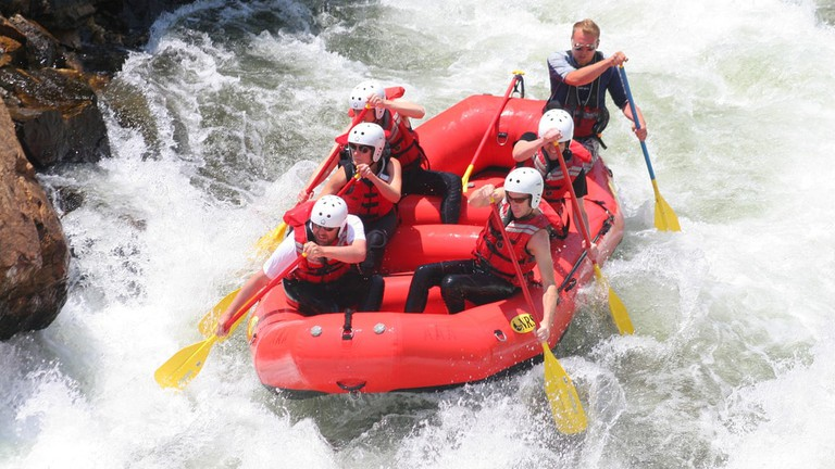 Conquer the rapids! © Jim Kelly/Flickr