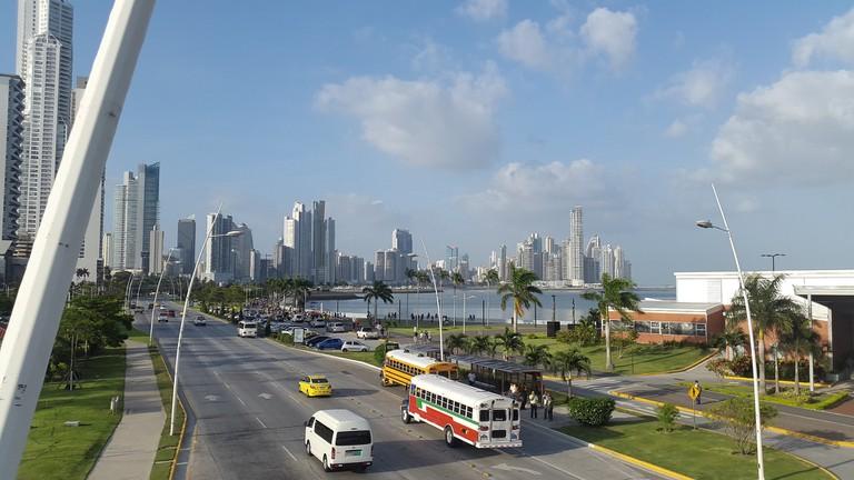 View over Ave Balboa, Panama City | © Tvshoppingpty/Pixabay