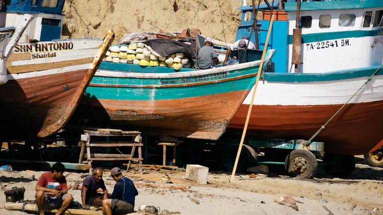 Fishing boats   © Mia Spingola/Culture Trip