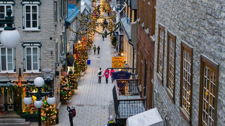 Old Quebec City Christmas Market.20 Must Visit Attractions In Quebec City