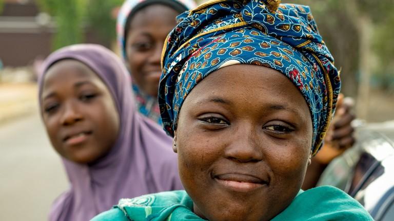 Young women in Nigeria   © Mark Fischer / Flickr