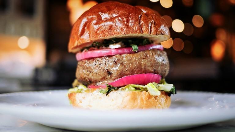 Beef burger | © Pexels / Pixabay