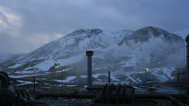 Geothermal Powerstation | © DeepBluC/Flickr