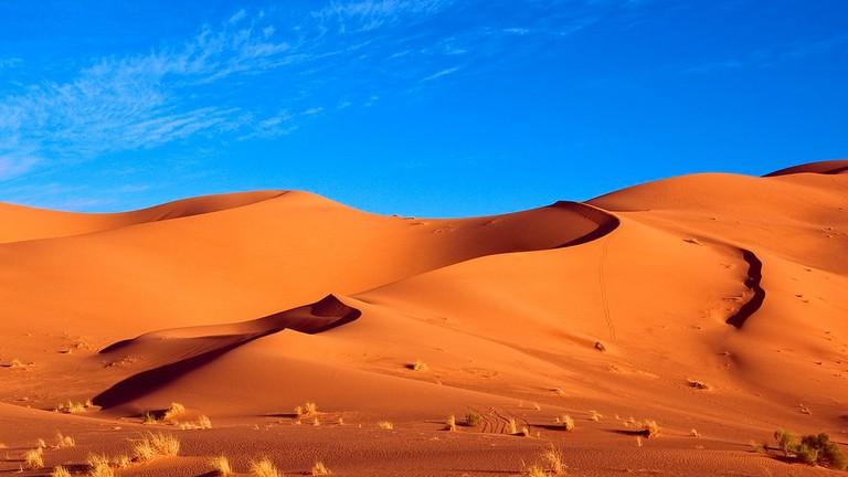 "<a href=""https://www.flickr.com/photos/kodok/7963972876/"" rel=""noopener"" target=""_blank"">Impressive dunes of Erg Chebbi, Morocco | © Scott Presly / Flickr</a>"