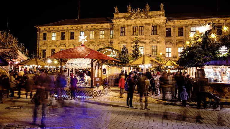 Nuremberg Christmas Market.The Best Christmas Markets Between Nuremberg And Rothenburg