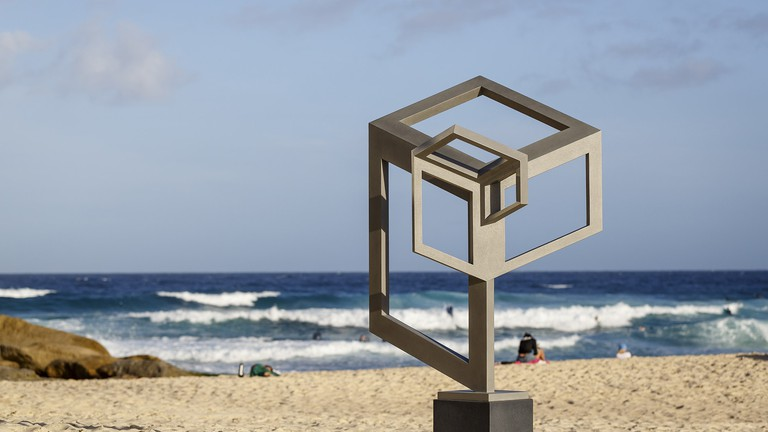 1860320a7a51 These Abstract Art Installations Are Popping Up All Over Sydney s Bondi  Beach