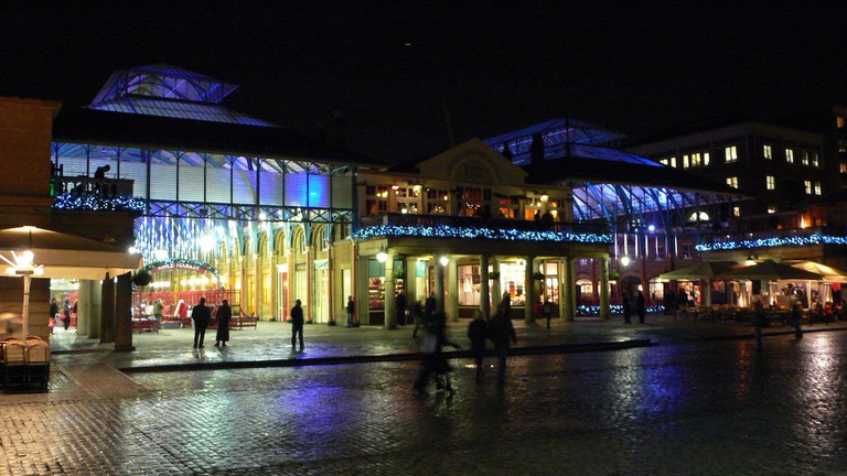 Covent Garden at night | © Heather Cowper