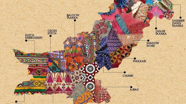 These Beautiful Maps of Pakistan and India Show Each